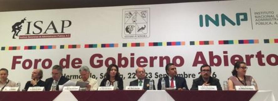 ISAP Foro Internacional de Gobierno Abierto 2016